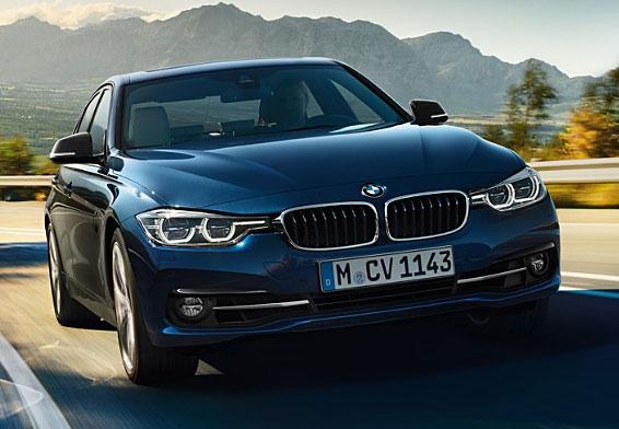 セダン1位:オシャレな外車の代表。BMW3シリーズ
