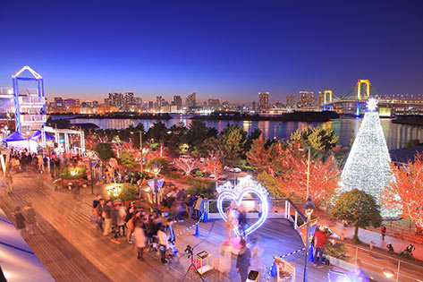年下女性を誘う東京都内のデートスポットランキング8位:お台場