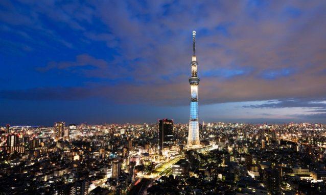 年下女性を誘う東京都内のデートスポットランキング4位:東京スカイツリー