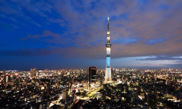 8位:東京を一望、スカイツリ―コース