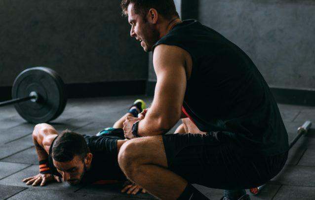腹斜筋のストレッチ方法