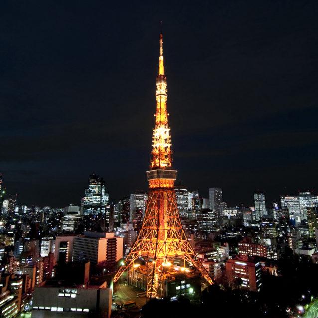 年下女性を誘う東京都内のデートスポットランキング5位:東京タワー