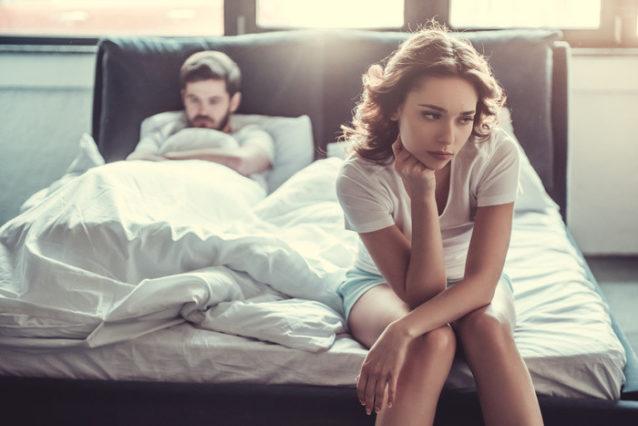 結婚生活の不満を言う