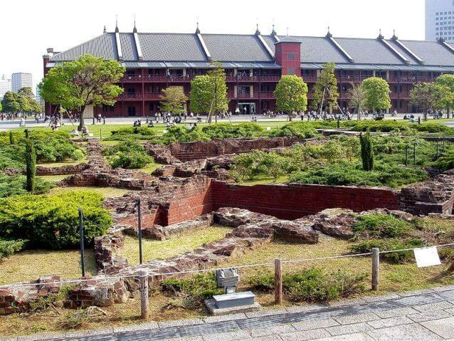 赤レンガ倉庫の穴場スポット|赤レンガ倉庫の裏の公園