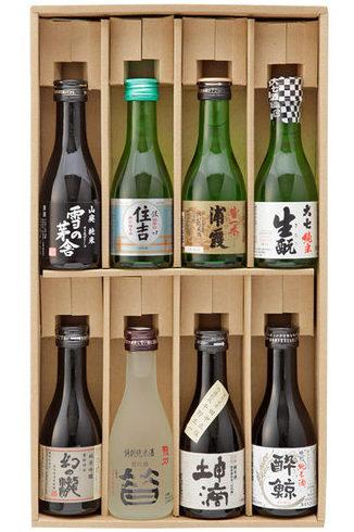 高島屋ギフト【父の日お届け専用】日本酒 銘酒8本詰合せ