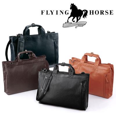 【FLYING HORSE】ホースレザー(馬革)ブリーフケース商品写真