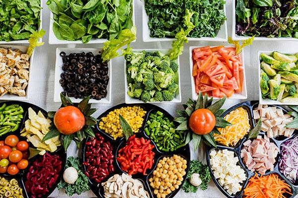 栄養バランスの良い食事を摂る