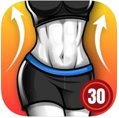 〇トレーニングメニューと来住管理が簡単に!「脂肪燃焼ワークアウト」アプリ