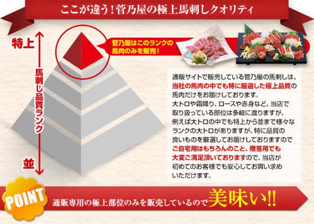 【送料無料】鮮馬刺し桜セット2