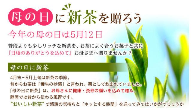 【送料込】母の日 ふたりの茶の匠ギフト (初摘)1