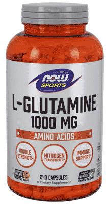 海外発送ナウフーズ - Lグルタミン 1000 mg 240カプセル