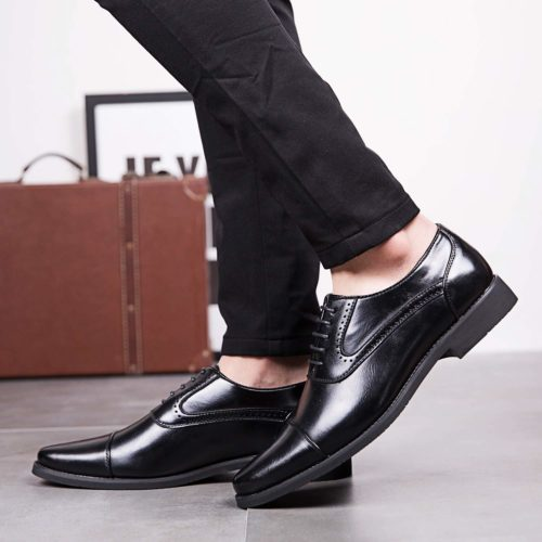 メンズワードローブ3:黒のストレートチップ(靴)