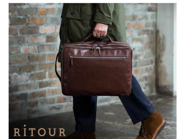 RiTOUR/リツア 軽量 馬革3WAYバッグ