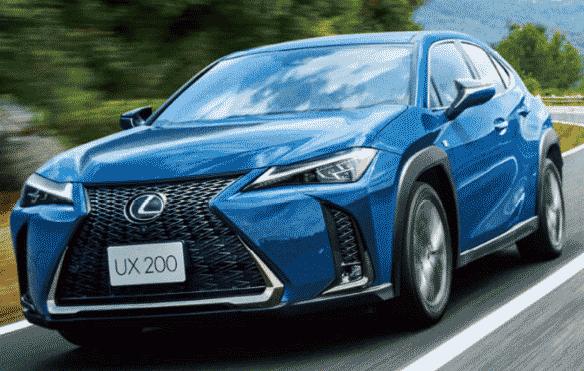 モテる国産車SUVランキング5位:レクサスUX