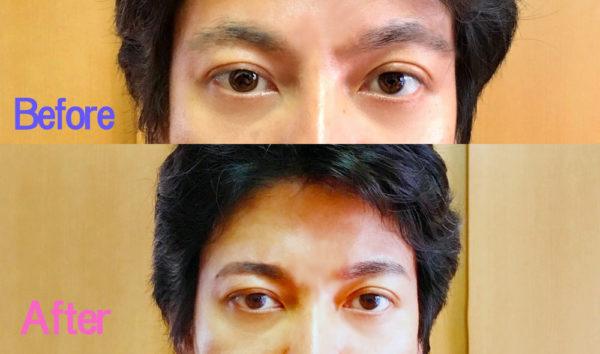 基本のメンズ眉毛の整え方9