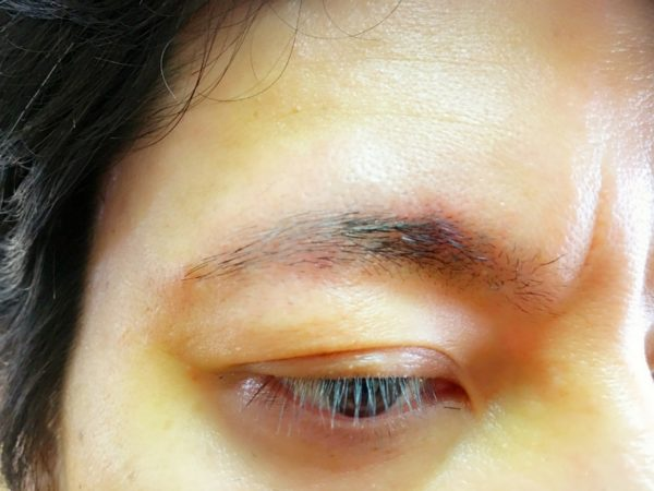 基本のメンズ眉毛の整え方77