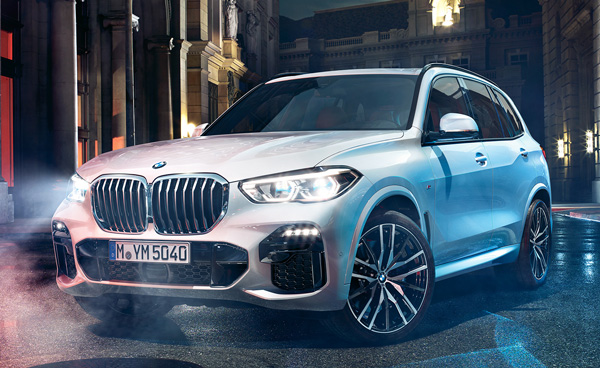 外車SUV人気ランキング1位:BMW X5