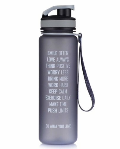 AVOIN colorlife Tritan プラスチック製 スポーツウォーターボトル 500ml & 1000ml & 1500ml BPA FREE