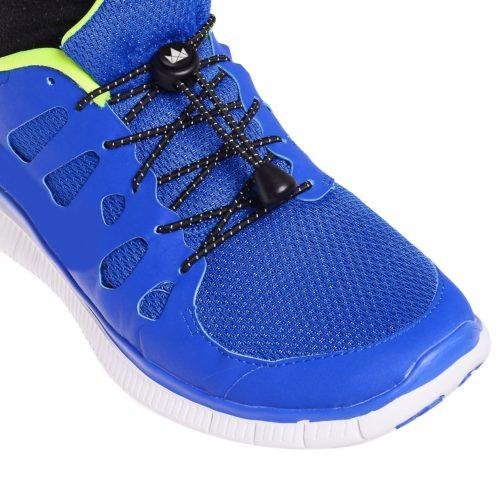 北欧スウェーデン発「The Friendly Swede」 結ばない 靴紐 5ペア 反射素材 レースロック 120cm