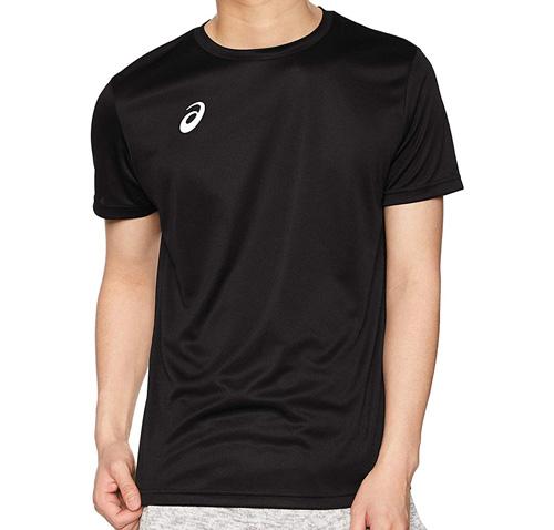 [アシックス] トレーニングウエア ワンポイント半袖シャツ