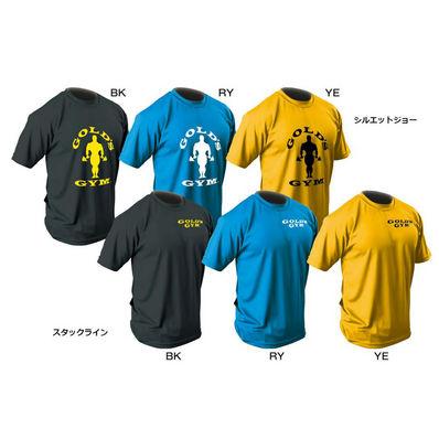 GOLD'S GYM G2262 EXゴールズドライTシャツ スタックライン