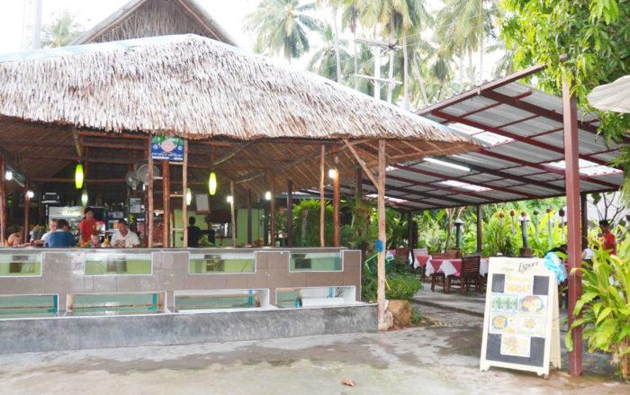 サムイ島おすすめシーフードレストラン|【バンポー】The Fisherman's Outlet
