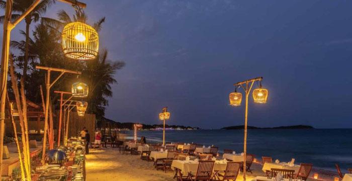 サムイ島おすすめシーフードレストラン|【チャウエン】Baitong Restaurant Chaweng Beach