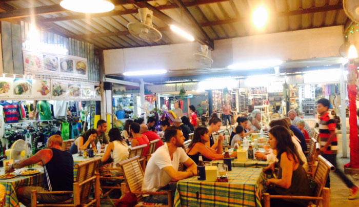 サムイ島おすすめシーフードレストラン|【チャウエン】Mr. Crab Chaweng