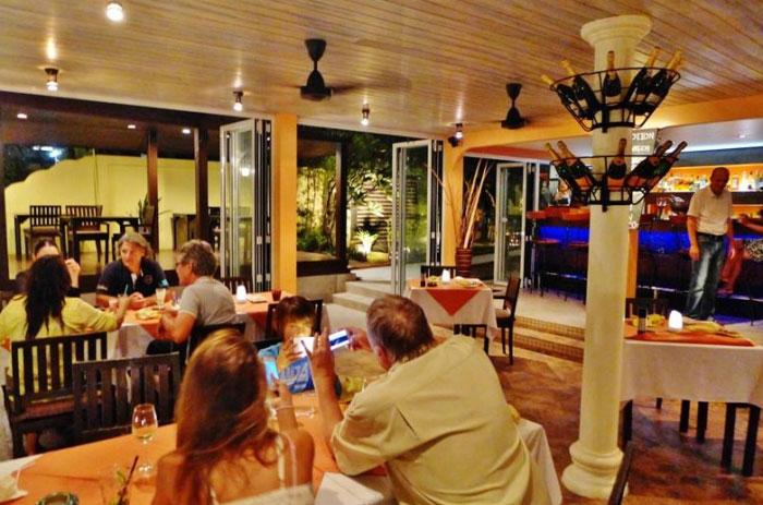 サムイ島おすすめシーフードレストラン|【ボプット】Ocean 11