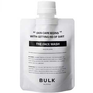 1位:BULK HOMME FACE WASH