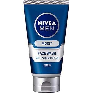 メンズおすすめ洗顔料8位:ニベアメン フェイスウォッシュモイスト 100g 男性用 洗顔料