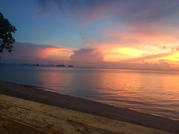サムイ島の西側