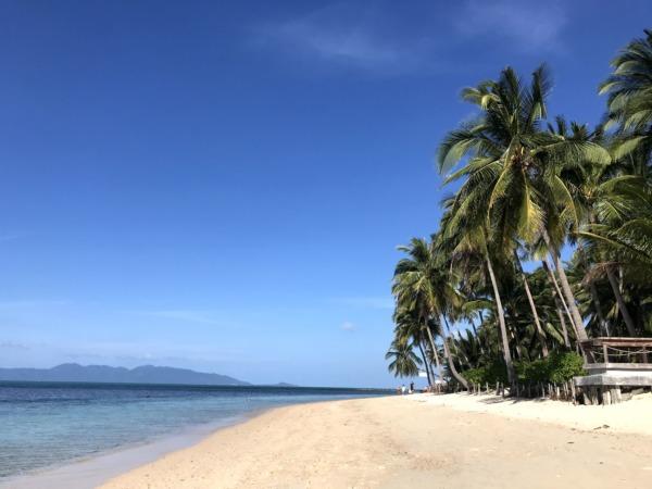 プライベート感あるビーチ